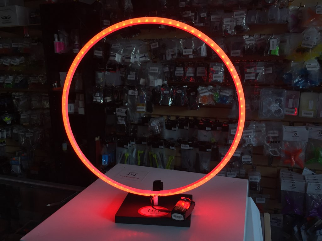 TNTC 16&quot; LED MICRO RACING GATE(1) - <font color=&quot;red&quot;><b>Red</b></font> - SNHE