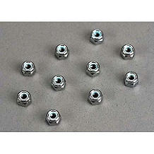 Traxxas 4mm Nuts:Universal - SNHE