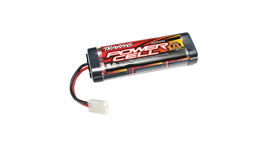 Traxxas 6-Cell Stick 1500mAh NiMH Battery w/Std Connector - SNHE