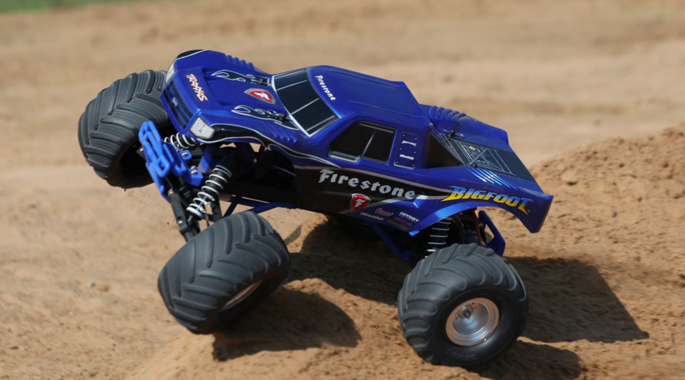 Traxxas 1/10 Bigfoot 2WD Monster Truck RTR: Firestone - SNHE