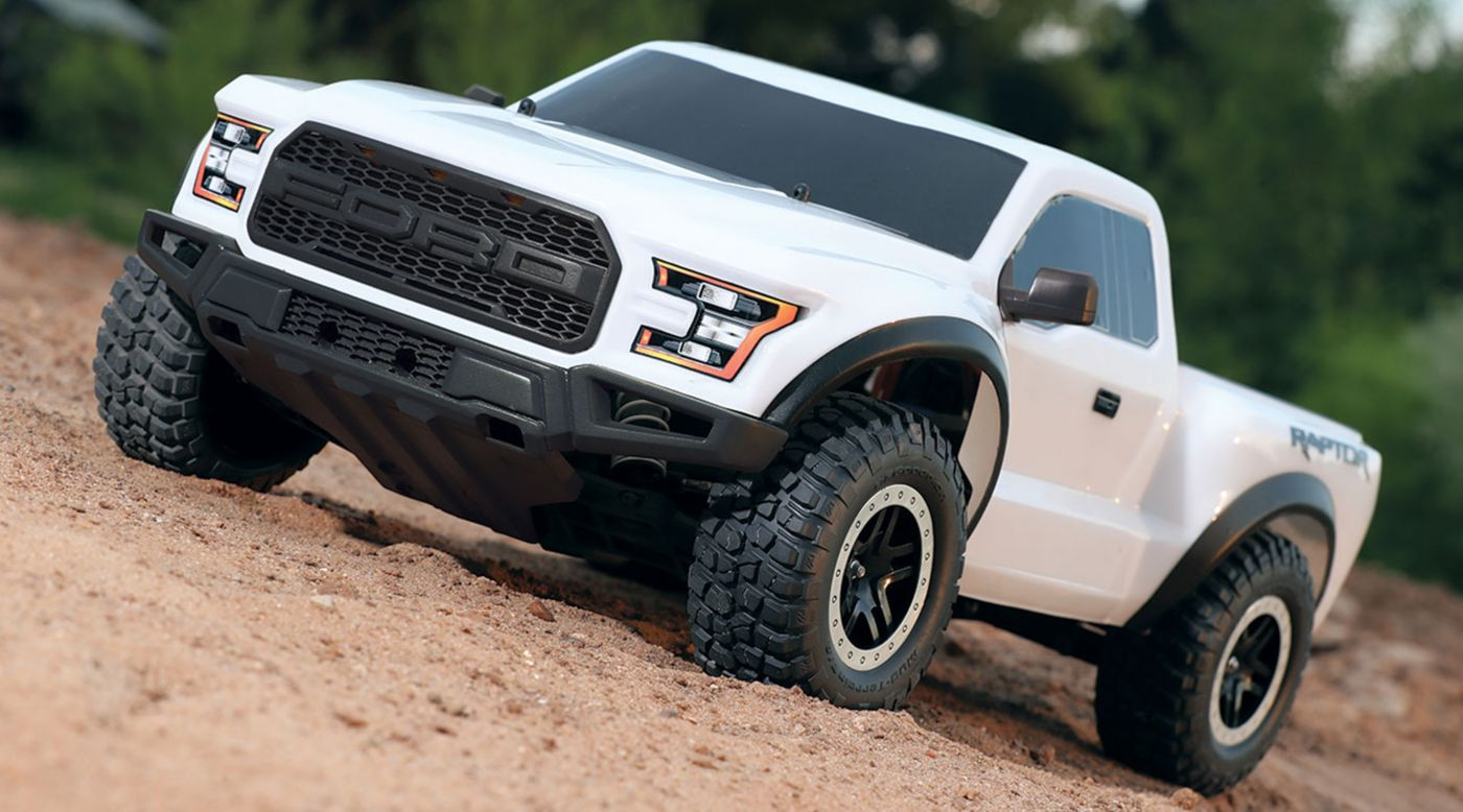 Traxxas 1/10 2017 2WD Ford Raptor RTR with XL-5 ESC Oxford White - SNHE