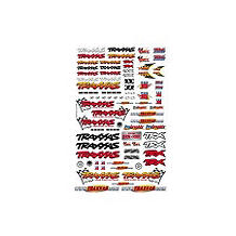 Traxxas Team Traxxas Racing Decal Set - SN Hobbies