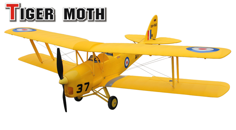 Dynam Tiger Moth - PNP - SN Hobbies