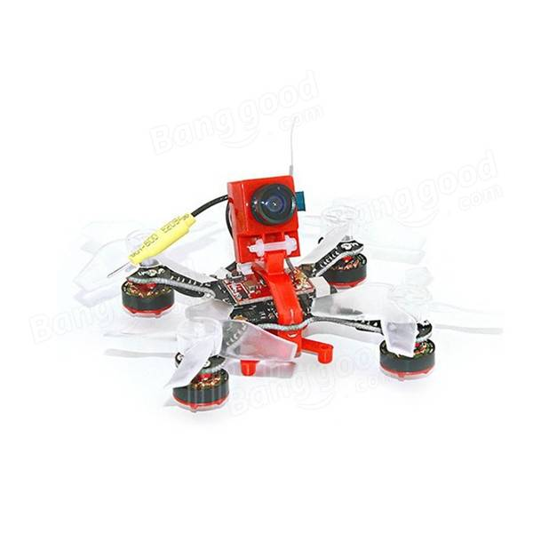 X73S 73mm Betaflight Naze32 Brushless 1S FPV Racing Drone ARF w/ 5.8G 32CH 25MW 600TVL Transmitter - <B>SPEKTRUM</b> - SNHE