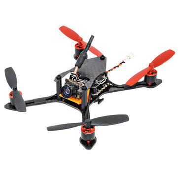 Bat-100 100mm Mini FPV Racing Drone PNP with F3 6A BLHELI_S Dshot600 25MW 48CH 600TVL VTX - SNHE