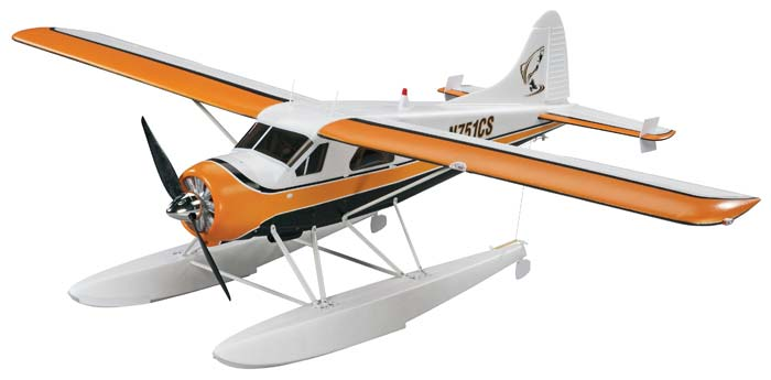 Flyzone DHC-2 Beaver Select Scale RTF - SNHE