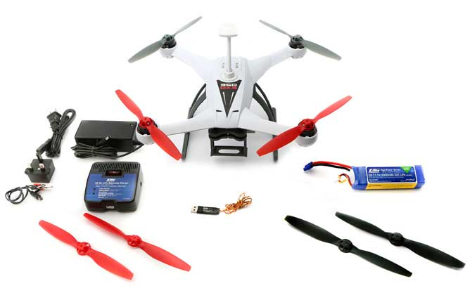 Blade 350 QX3 BNF with SAFE� Technology - SNHE
