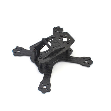 Realacc QQX-130 130mm Carbon Fiber Frame Kit with PDB for Multirotor - SNHE