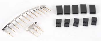 EMS Unassembled Female Connector JR (5) - SNHE