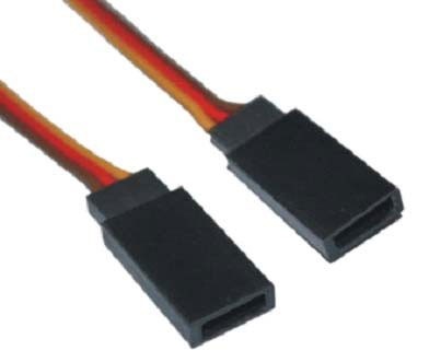 H-005/H-007 JR Male Battery Wire 26AWG L=20CM - SNHE