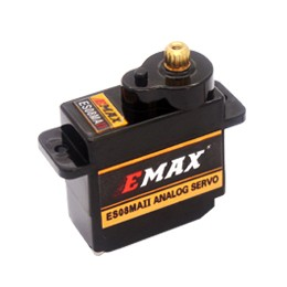 EMAX ES08MA II 12g Mini Metal Gear Analog Servo For RC Model - SNHE