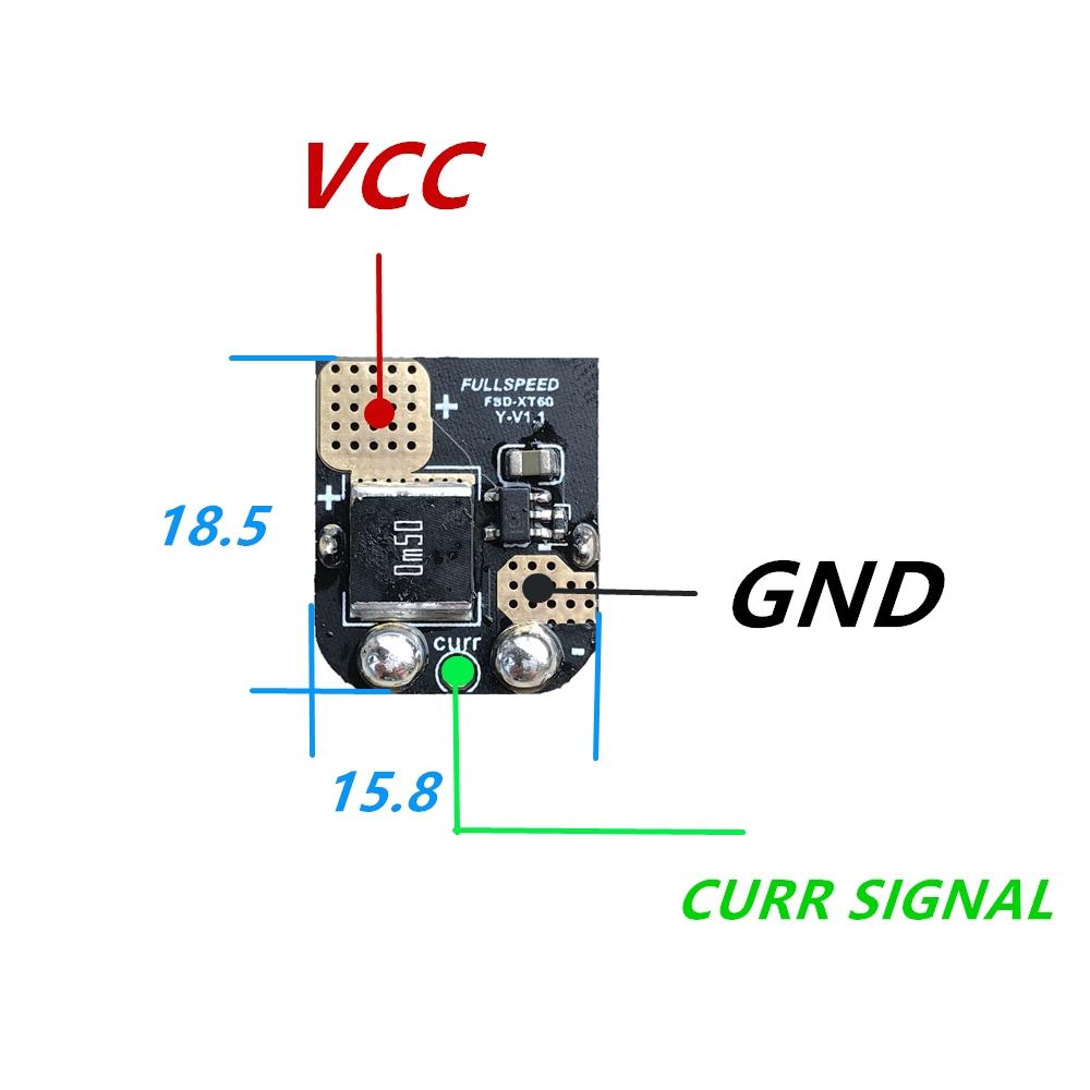 Sn Hobbies Fsd Amass Xt60 Current Sensor Currentsensorcircuit1jpg