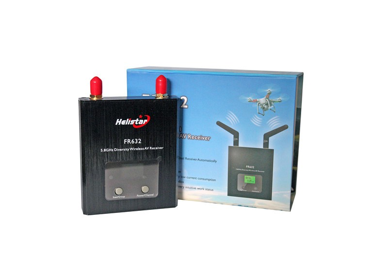 Helistar FR632 5.8GHz 32CH Duo Diversity Receiver - SNHE