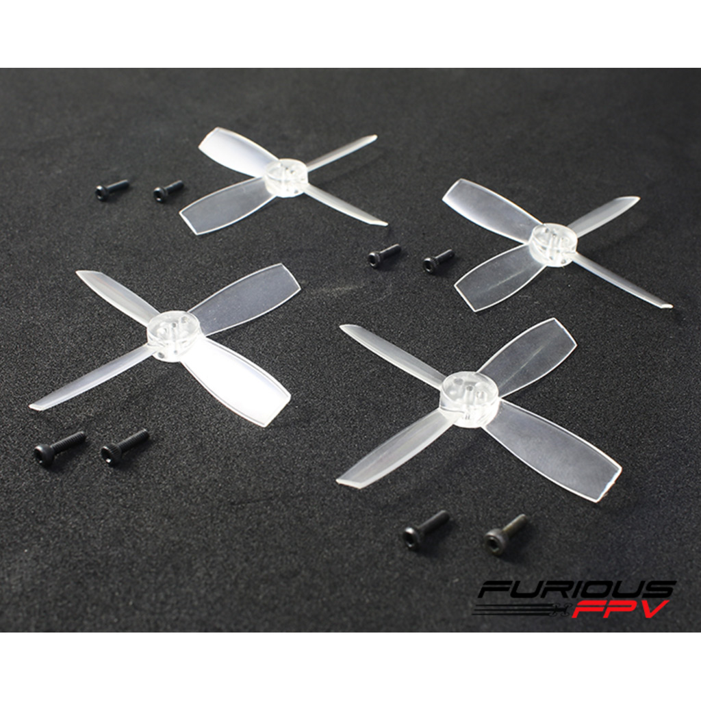FURIOUSFPV HIGH PERFORMANCE 2035-4 PROPELLERS (TRANSPARENT 2CW & 2CCW) - SNHE