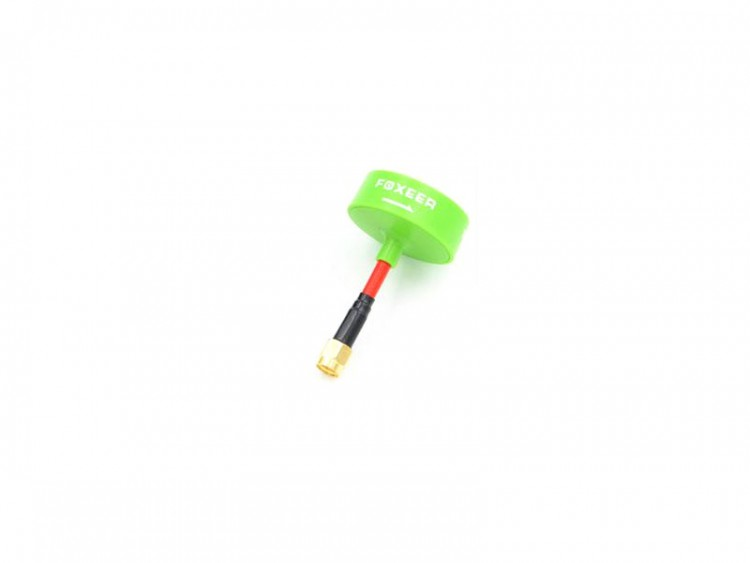 FOXEER 5.8G CIRCULAR POLARIZED OMNI <b>LHCP</b> ANTENNA SMA (MINI VERSION) - <font color=&quot;green&quot;><b>GREEN</b></font> - SNHE