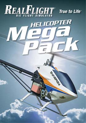 Great Planes RealFlight Helicopter Mega Pack - SNHE