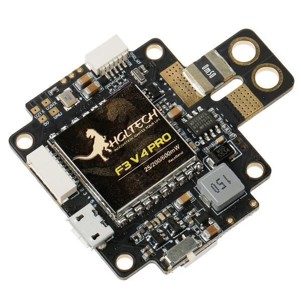 HGLRC F3 AIO <b>V4</b> Flight Control Board 25mW 200mW 600mW Switchable Transmitter OSD BEC PDB Current Sensor - SNHE