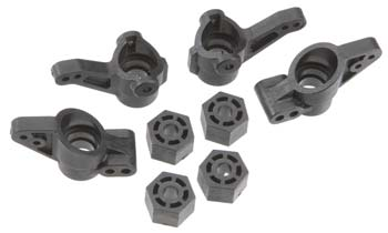 HPI Racing Front/Rear Upright Set Left/Right - SNHE