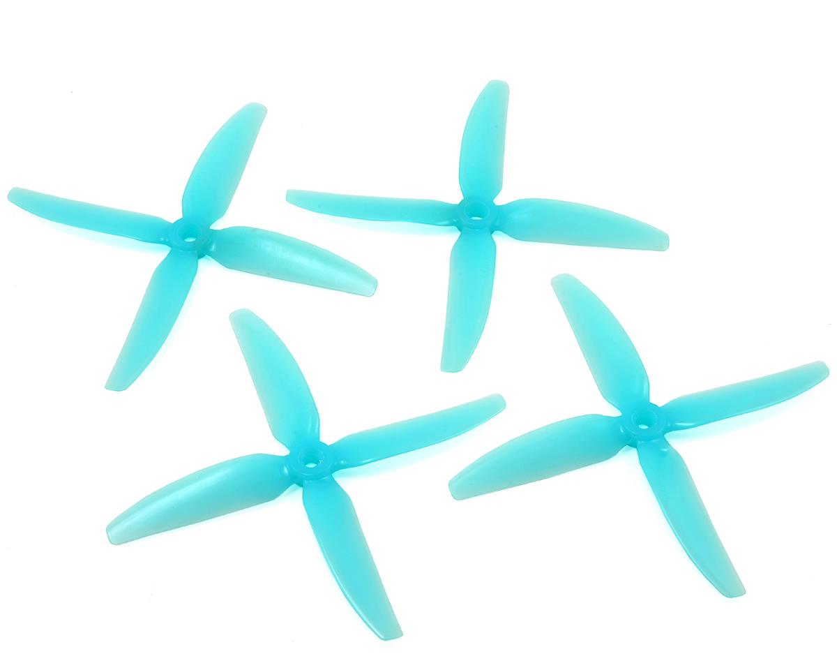 HQ Durable PC Prop <b>5X4X4V1S:</b> <font color=&quot;turquoise&quot;><b>Lite Blue</b></font> (2CW+2CCW) - SNHE