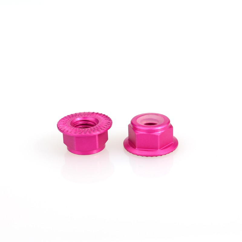Emax Brushless Motor Aluminum Screws Nut For RS2205 RS2205S RS2306 - <b>(2 Pcs)</b> <font color=&quot;pink&quot;><b>Pink</b></font> - SNHE