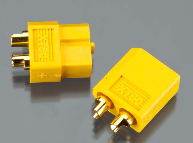 Integy XT-60 Type Connector Set 3.5mm - SN Hobbies
