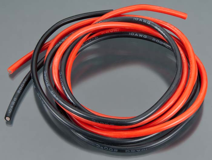 Acer Racing Superworm Silicong Wire 10 Gauge 10' - SNHE