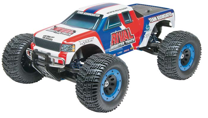 Associated 1/8 Rival Monster Truck Brushless 2.4GHz RTR - SN Hobbies