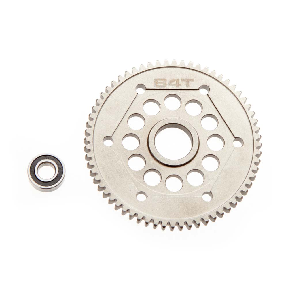 Axial Steel Spur Gear 32P 64T Yeti - SNHE