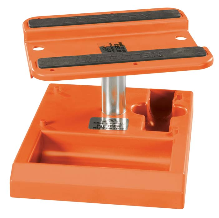Duratrax Pit Tech Deluxe Car Stand Orange - SNHE