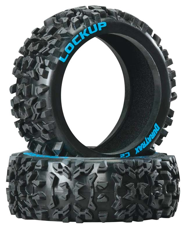 Duratrax 1/8 Lockup Buggy Tire C2 (2) - SNHE
