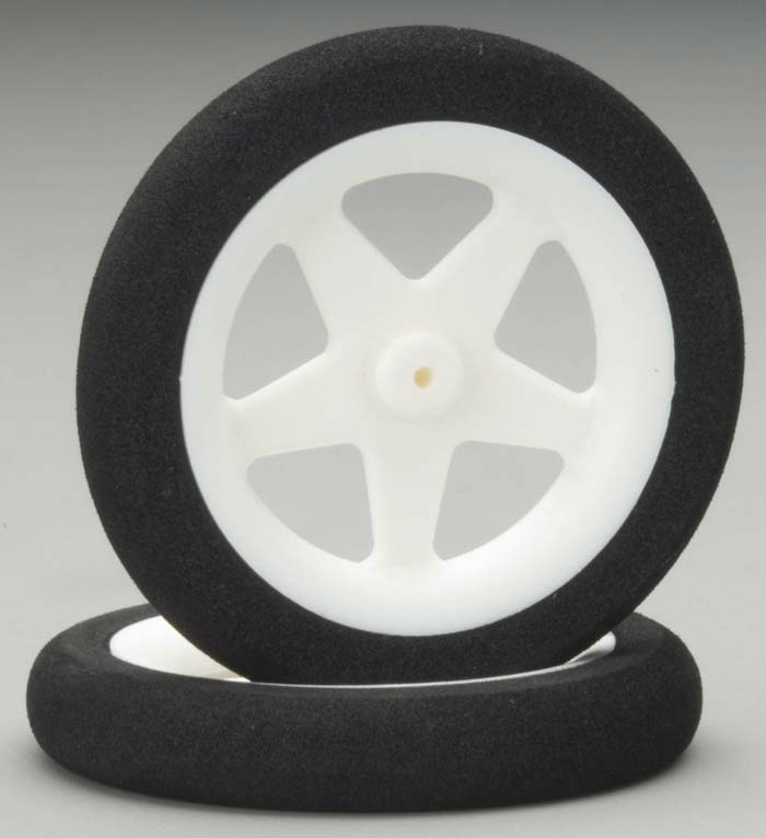 "Dubro Micro Sport Wheels 2.50"" (2) - SNHE"