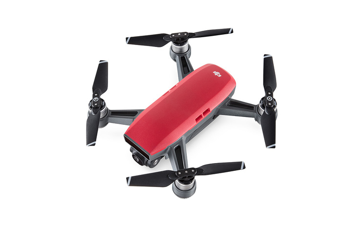 DJI SPARK QUADCOPTER <b>FLY MORE COMBO</b> - LAVA RED - SNHE