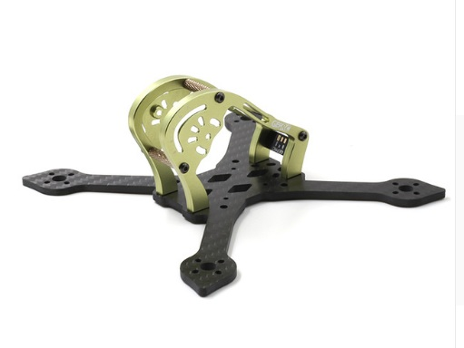GEPRC Sparrow <b>GEP-MX3 <font color=&quot;green&quot;>Green</font></b> 139mm Carbon Fiber 3mm Arm FPV Racing Frame - SNHE