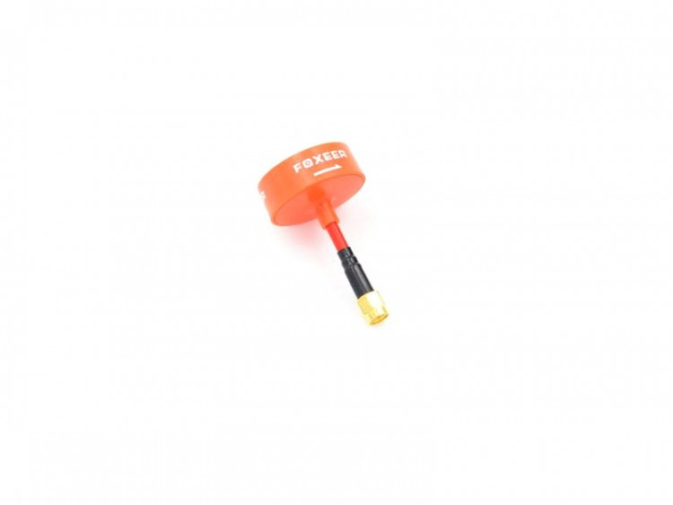 FOXEER 5.8G CIRCULAR POLARIZED OMNI <b>LHCP</b> ANTENNA SMA (MINI VERSION) - <font color=&quot;orange&quot;><b>ORANGE</b></font> - SNHE