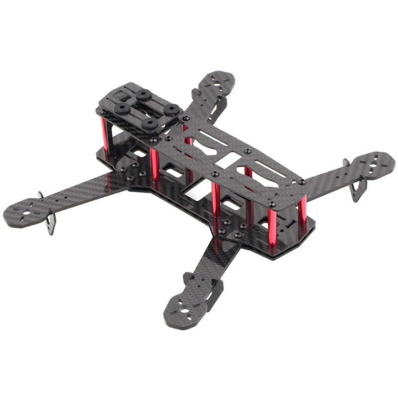 Mini H250 Carbon Fiber Quadcopter Frame Kit for FPV - SNHE