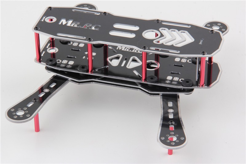 MR.RC 250PRO PCB Mini Quadcopter Kit (w/ built-in Power Control Board) - SNHE