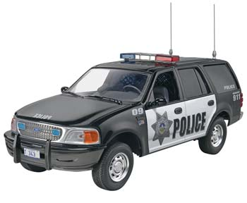 Revell 1/25 '97 Ford Police Expedition - SNHE