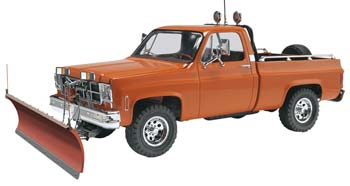 Revell 1/24 GMC Pickup w/Snow Plow - SNHE
