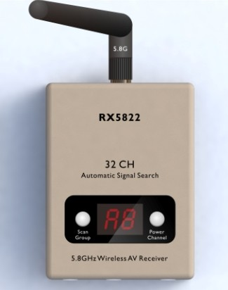 Helistar 32CH 5.8Ghz automatic signal search receiver - SNHE