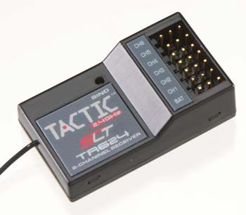 Tactic TR624 6-Channel 2.4GHz Receiver - SNHE
