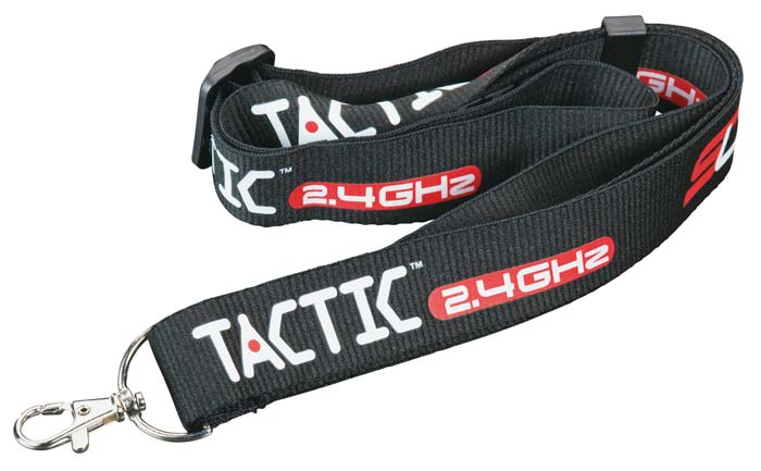Tactic Adjustable Neckstrap Black - SNHE
