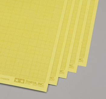 Tamiya Masking Sticker Sheet (1mm Grid Type) (5) - SNHE