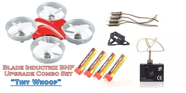 BLADE INDUCTRIX UPGRADE COMBO KIT - TINY WHOOP BNF SET - SNHE