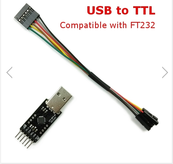USB to TTL Converter Module for FT232 FTDI MWC Multiwii Arduino with 6P DuPont Line - SNHE