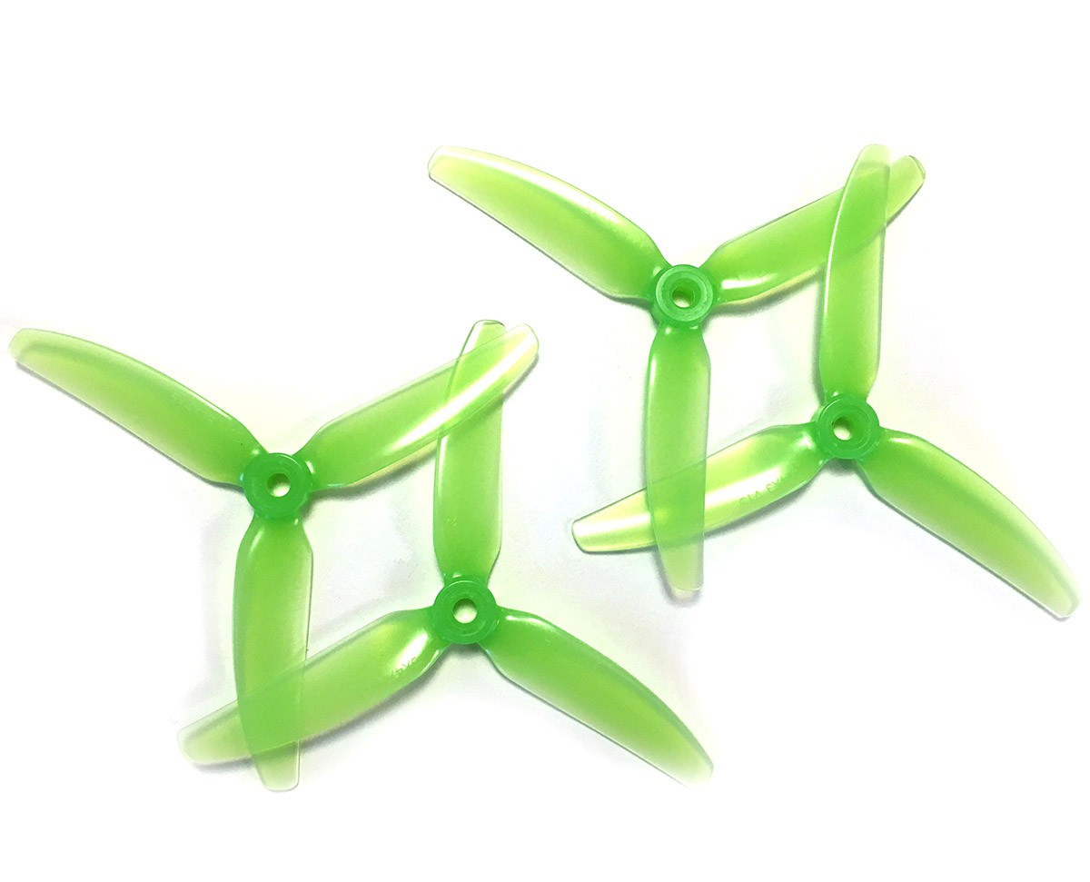 HQ Durable PC Prop <b>5X4.5X3V1S:</b> <font color=&quot;green&quot;><b>Light Green</b></font> (2CW+2CCW) - SNHE
