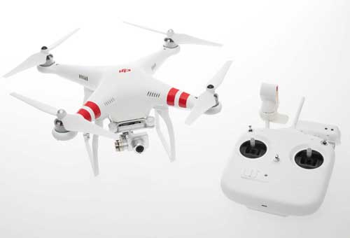 DJI PHANTOM 2 VISION+ QUADCOPTER WITH FPV HD VIDEO CAMERA AND 3-AXIS GIMBAL - SNHE