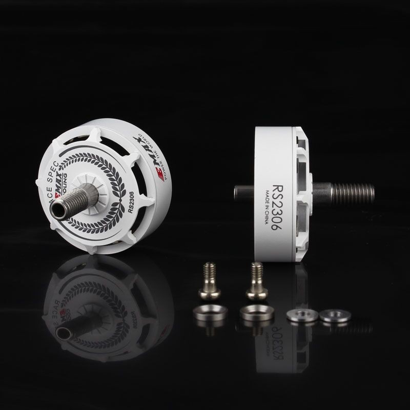 EMAX Bell Pack For RS2306 <b>2400kv</b> White Editions(Included Magnet&Screws) - SNHE