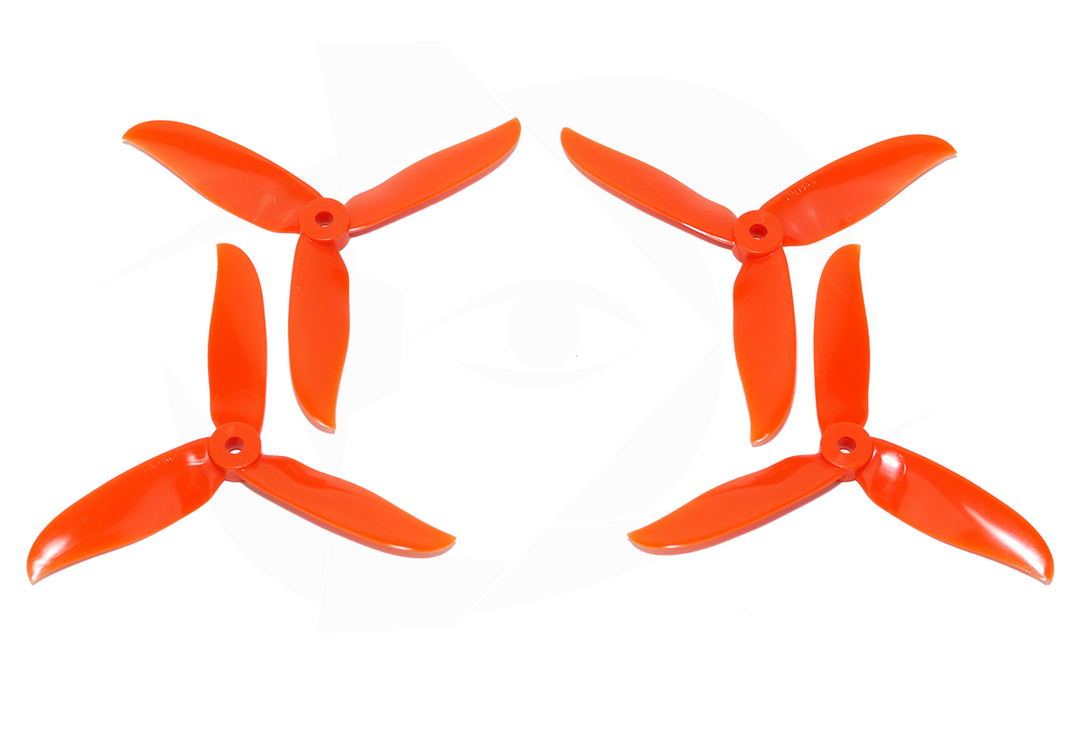 DAL <b>T5046C</b> Cyclone Tri-Blade - <font color=&quot;orange&quot;><b>Orange</b></font> - SNHE