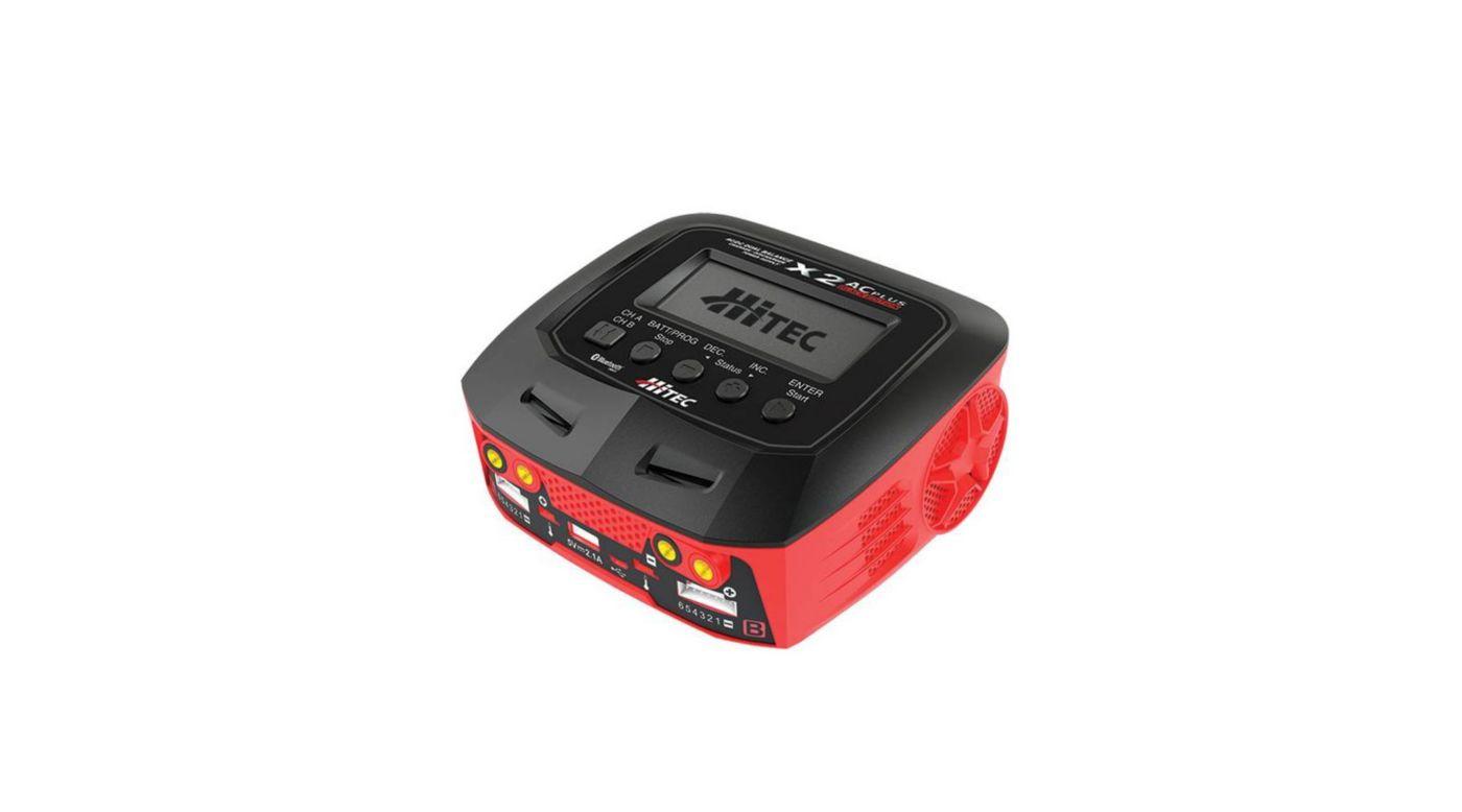 Hitec X2 AC Plus Black Edition Multi-Function AC/DC Charger - SNHE