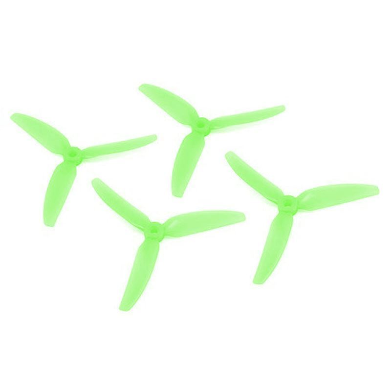 "HQ Durable PC Prop <b>5X4.3X3V1S:</b> <font color=""Green""><b>Light Green</b></font> (2CW+2CCW)"